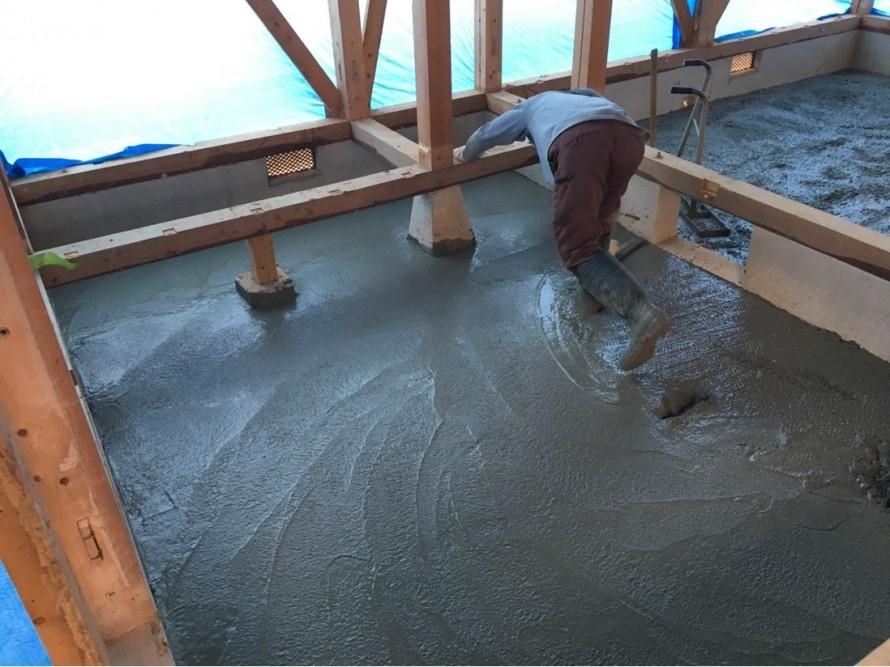 防湿土間コン 土間コンクリート