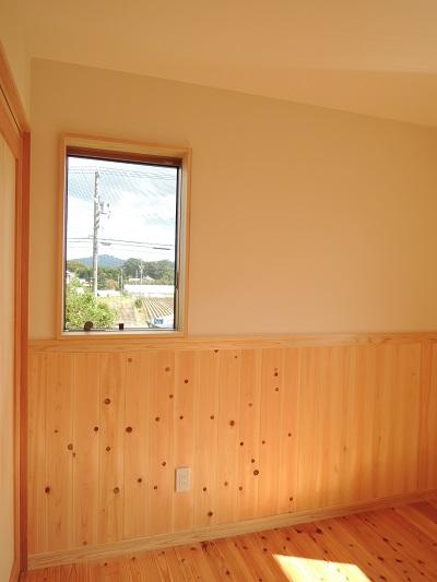 5豊川市一宮町K様邸  子供室 滑り出し窓