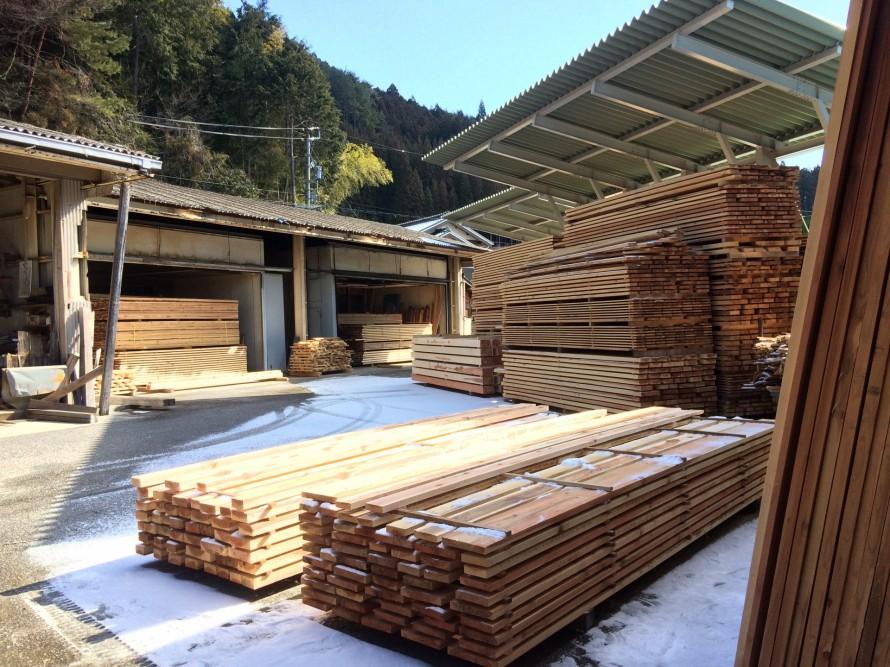 豊橋市 ハミングの製材工場 奥三河木材協同組合