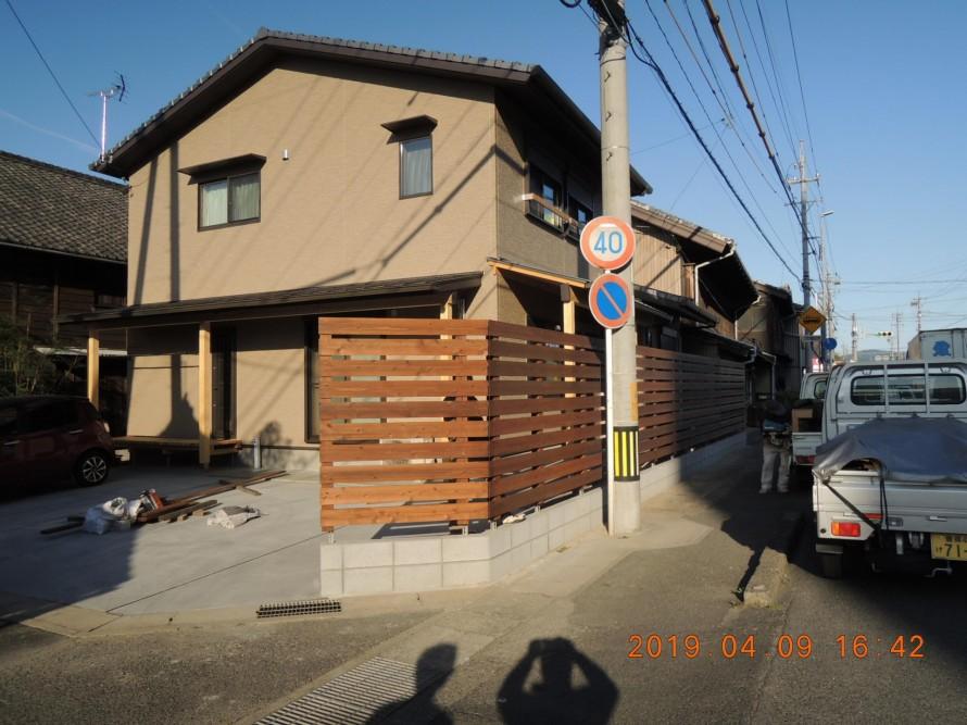 板塀 豊川市
