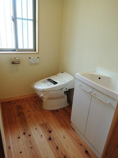 7豊橋市池見町 F様邸  タンクレストイレ