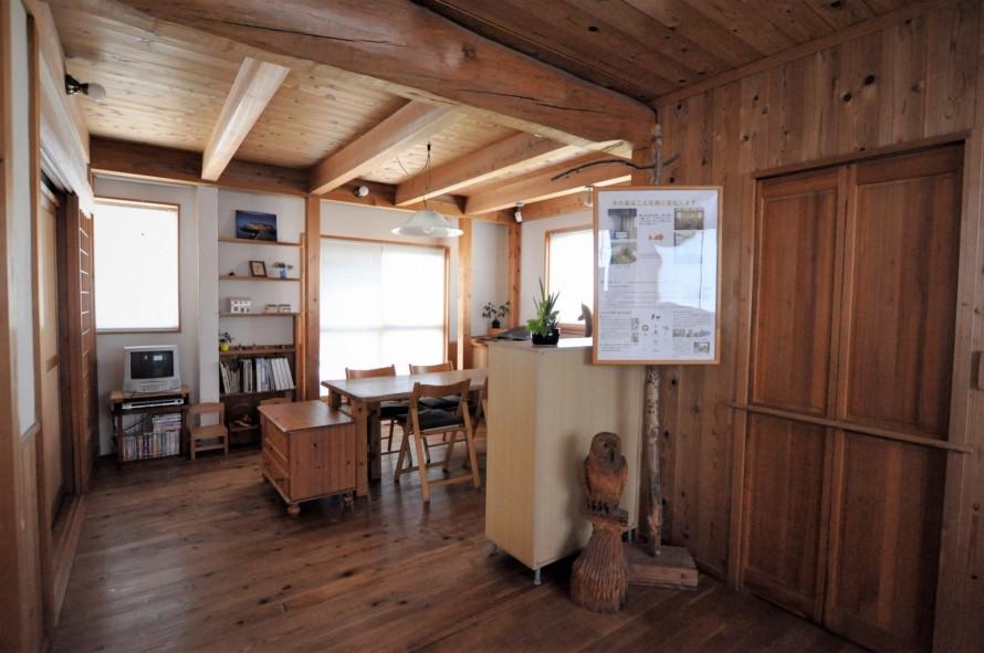 20年経った木の家