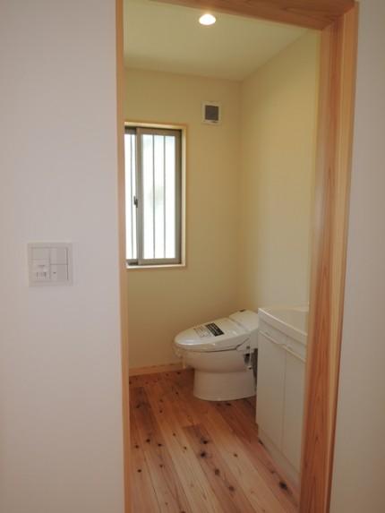 F様邸(池見町) トイレ