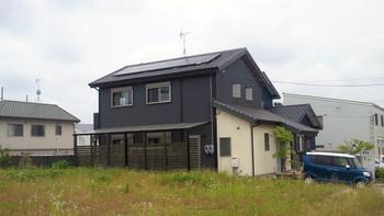 太陽光発電取り付け工事