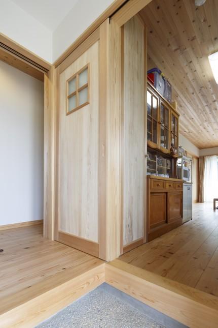 M様邸(多米東町) 玄関室