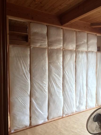子供室間仕切りプラスターボード 豊橋市富士見台