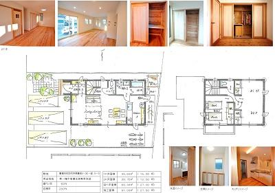 プレゼン 豊橋市弥生町ヒノキの床の家