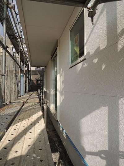 外壁防火サイディング 豊橋市大岩町
