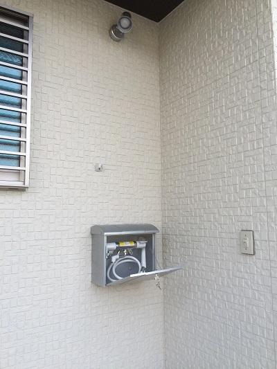 13豊橋市松村町 M様邸 屋外水栓 収納型