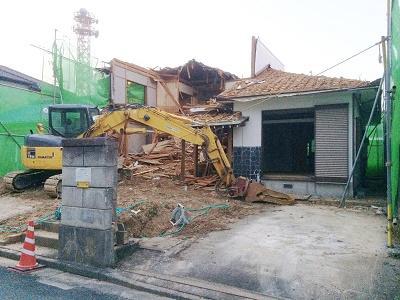 木造住宅解体工事 豊橋市