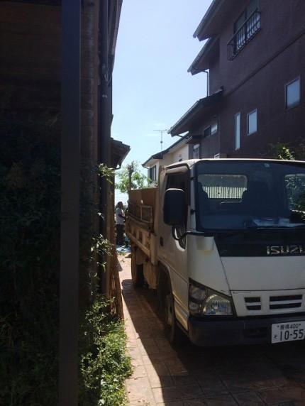庭の改装工事1 富士見台