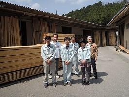奥三河木材協同組合スタッフ 設楽町